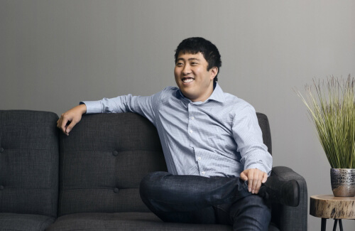 Derek Ting, Co-Founder and CEO of TextNow, telecommunications start-up