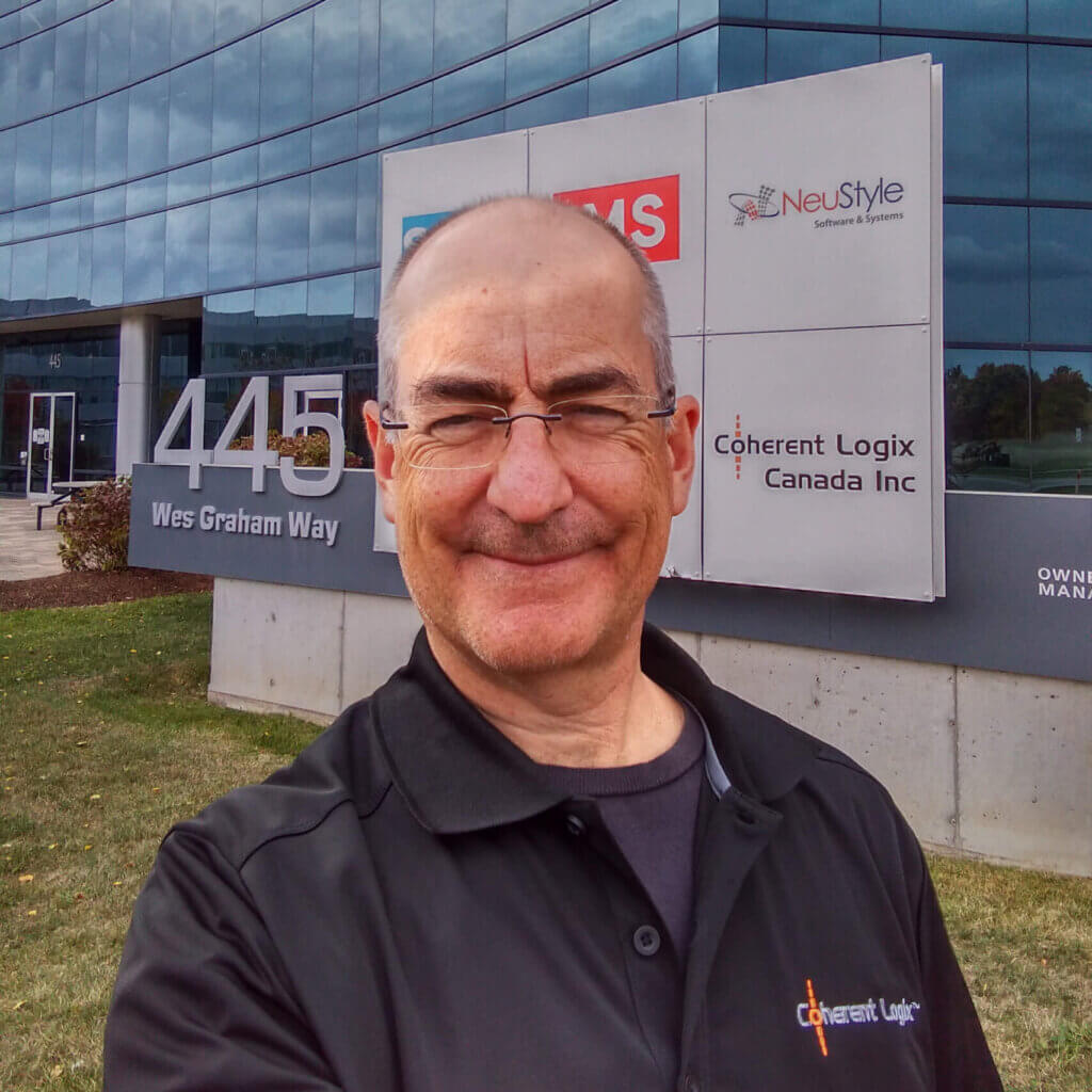 David Starks, Director Wireless Software, Coherent Logix