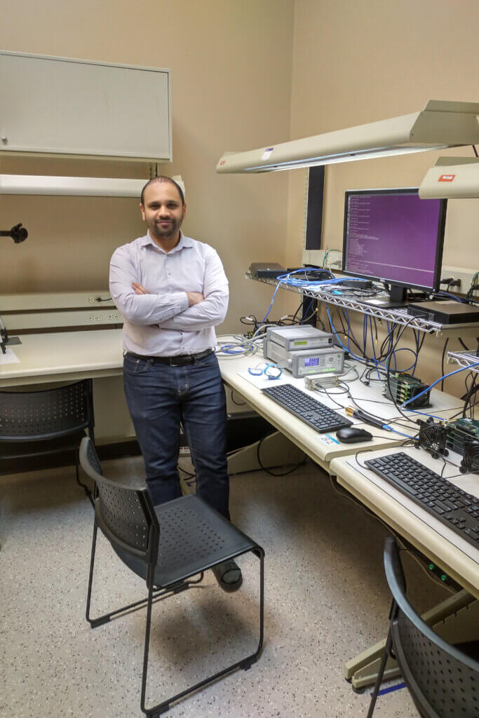 Dr. Ahmed Hamza, PhD Electrical and Computer engineering & Post-Doctoral Fellow with the CST Laboratory, University of Waterloo