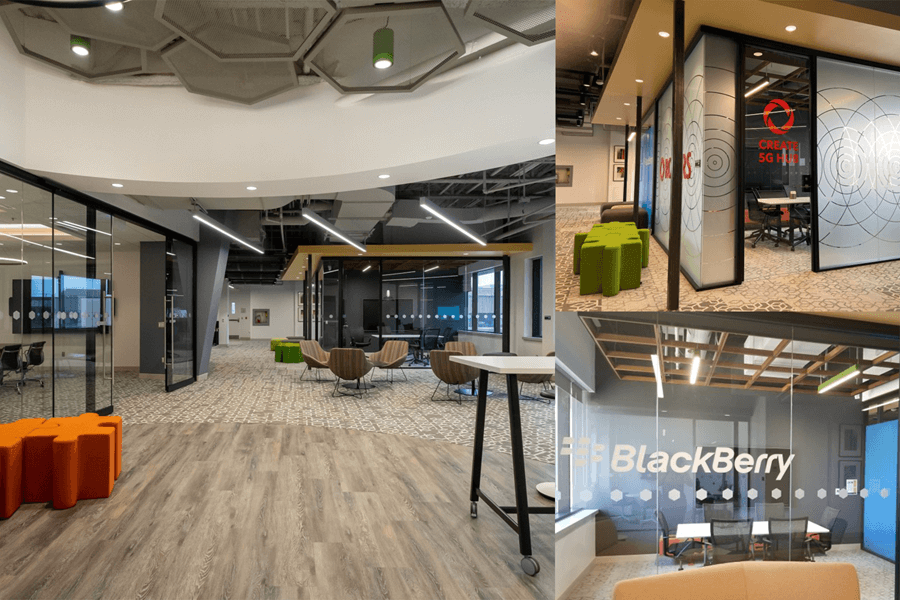 A collage of photos of the GEDI innovation labs